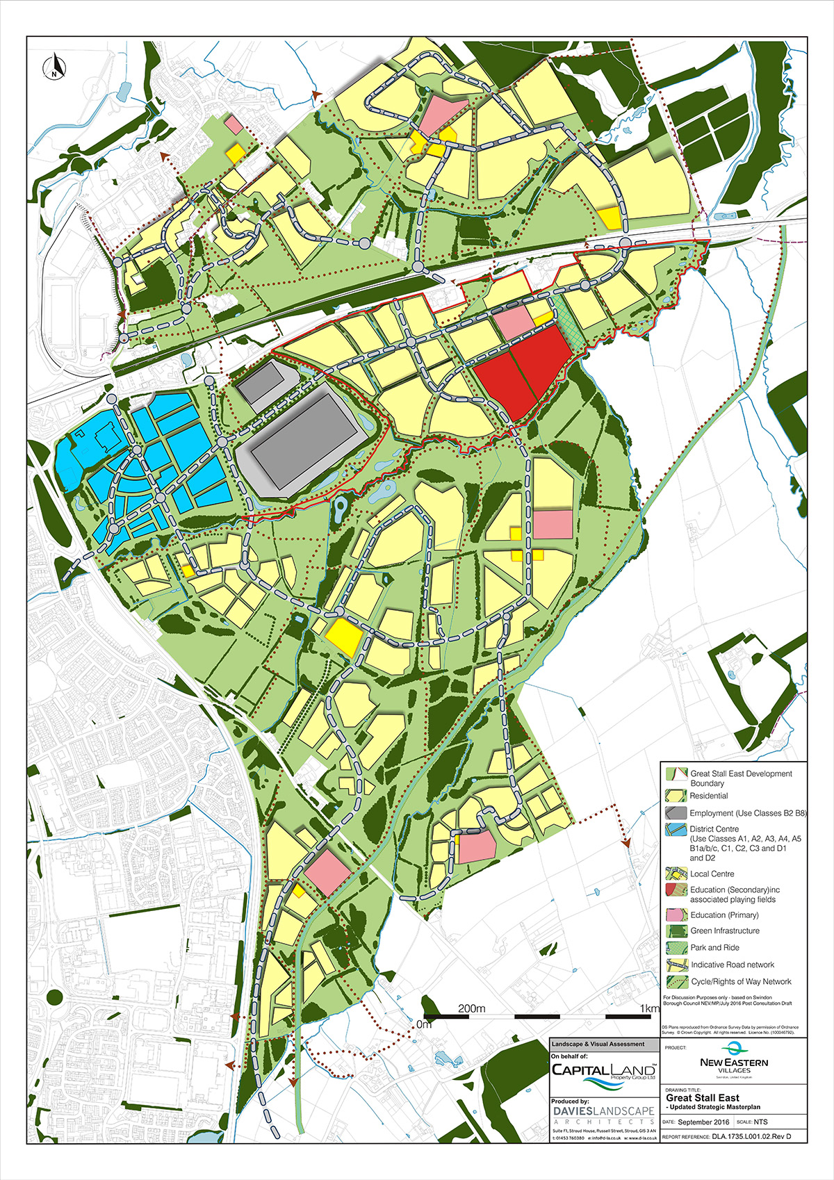 New Eastern Villages Masterplan