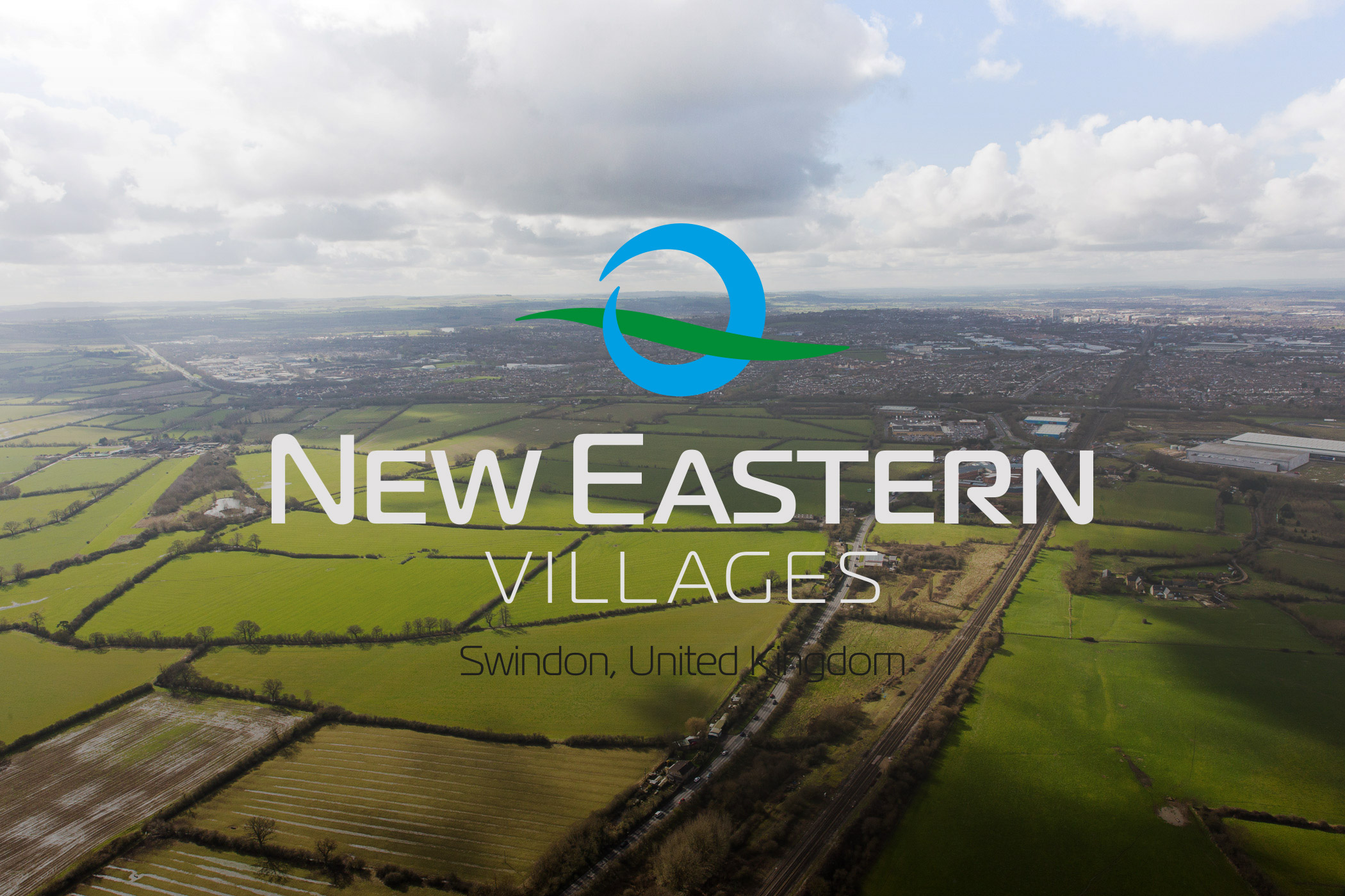 Capital Land New Eastern Villages Logo and Greenfields